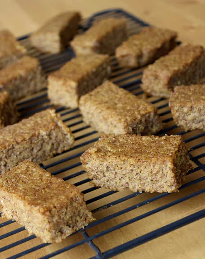 Cinnamon Quinoa Bake! Healthy, Protein-Packed Bars that taste like french toast