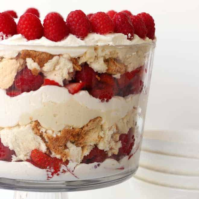 Trifle Recipes Strawberries Angel Food Cake