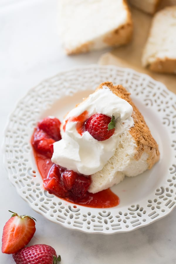 Perfect Gluten Free Angel Food Cake