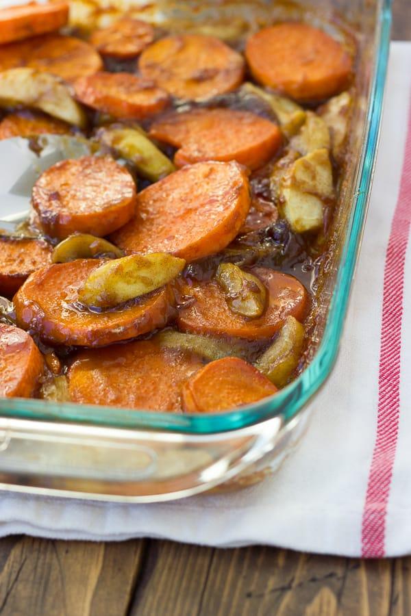 how to make brown sugar sauce for sweet potatoes