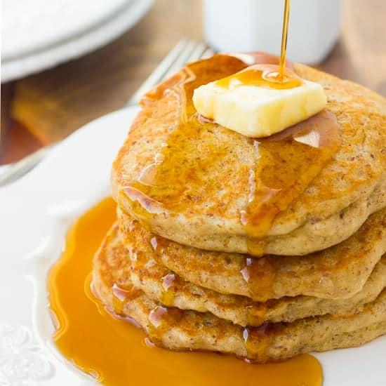 Gluten-Free Buckwheat Flax Pancakes <br/> {our favorite pancakes}