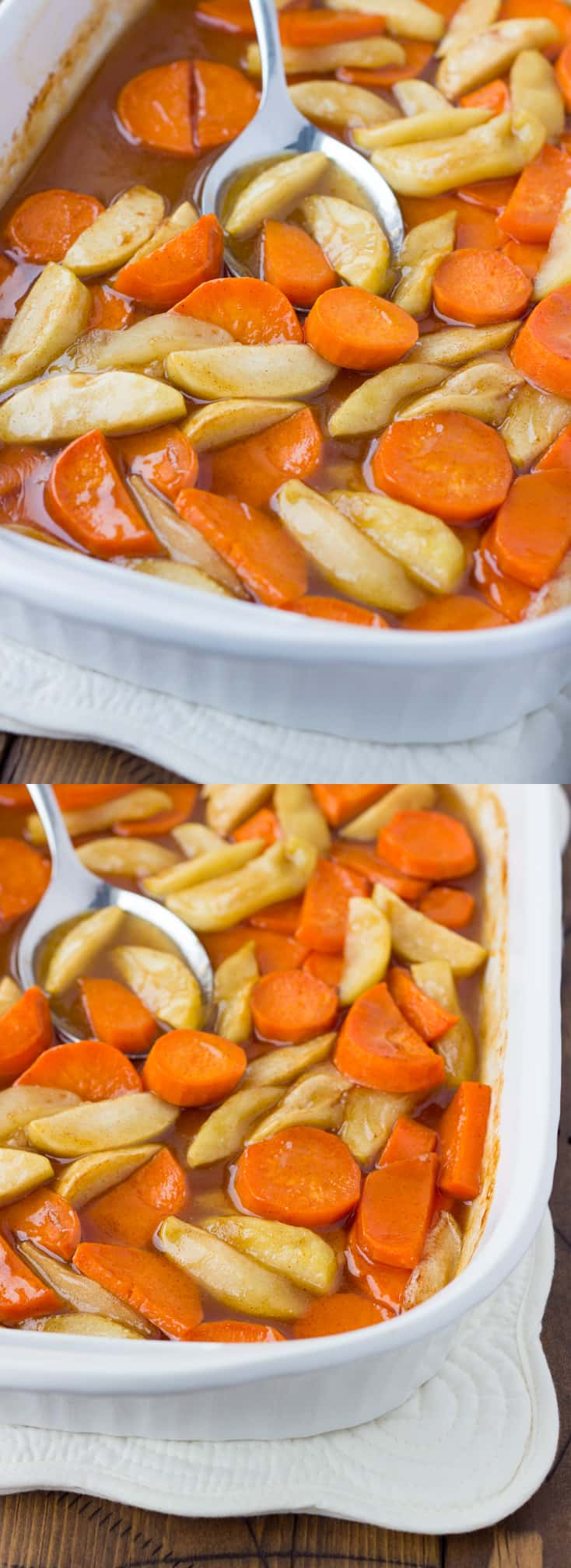 Baked Yamples - Sweet Potatoes and Apples in Brown Sugar Sauce! (Gluten-Free, Dairy-Free)