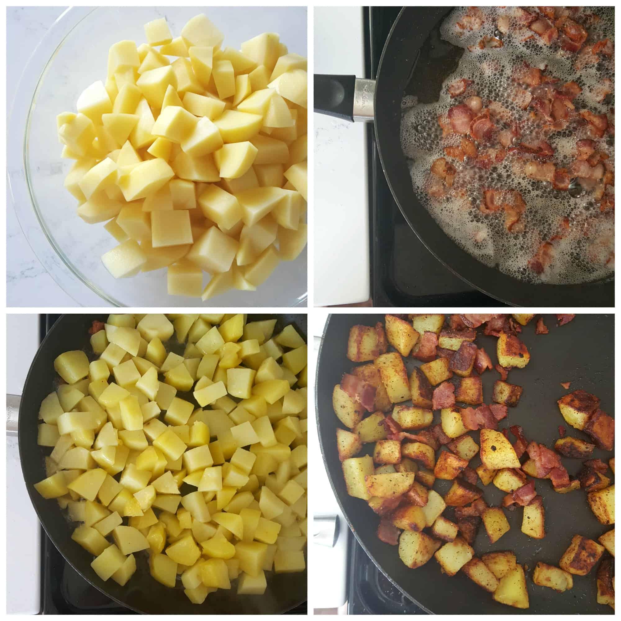 Gluten-Free Potato, Bacon & Egg Breakfast Burritos!