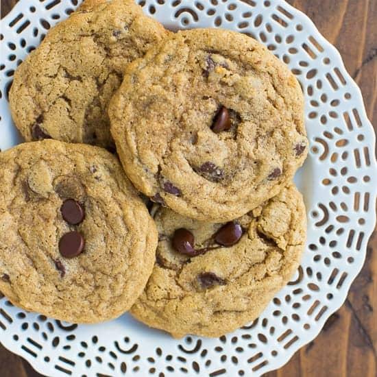 Gluten-Free Buckwheat Chocolate Chip Cookies {VIDEO!}
