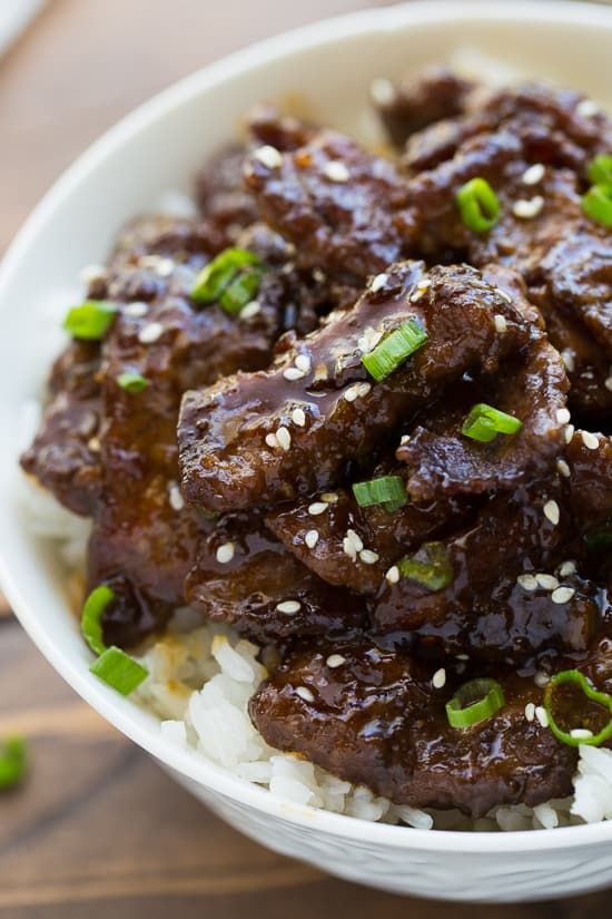 30-Minute Beef Teriyaki {Gluten-Free} - Meaningful Eats