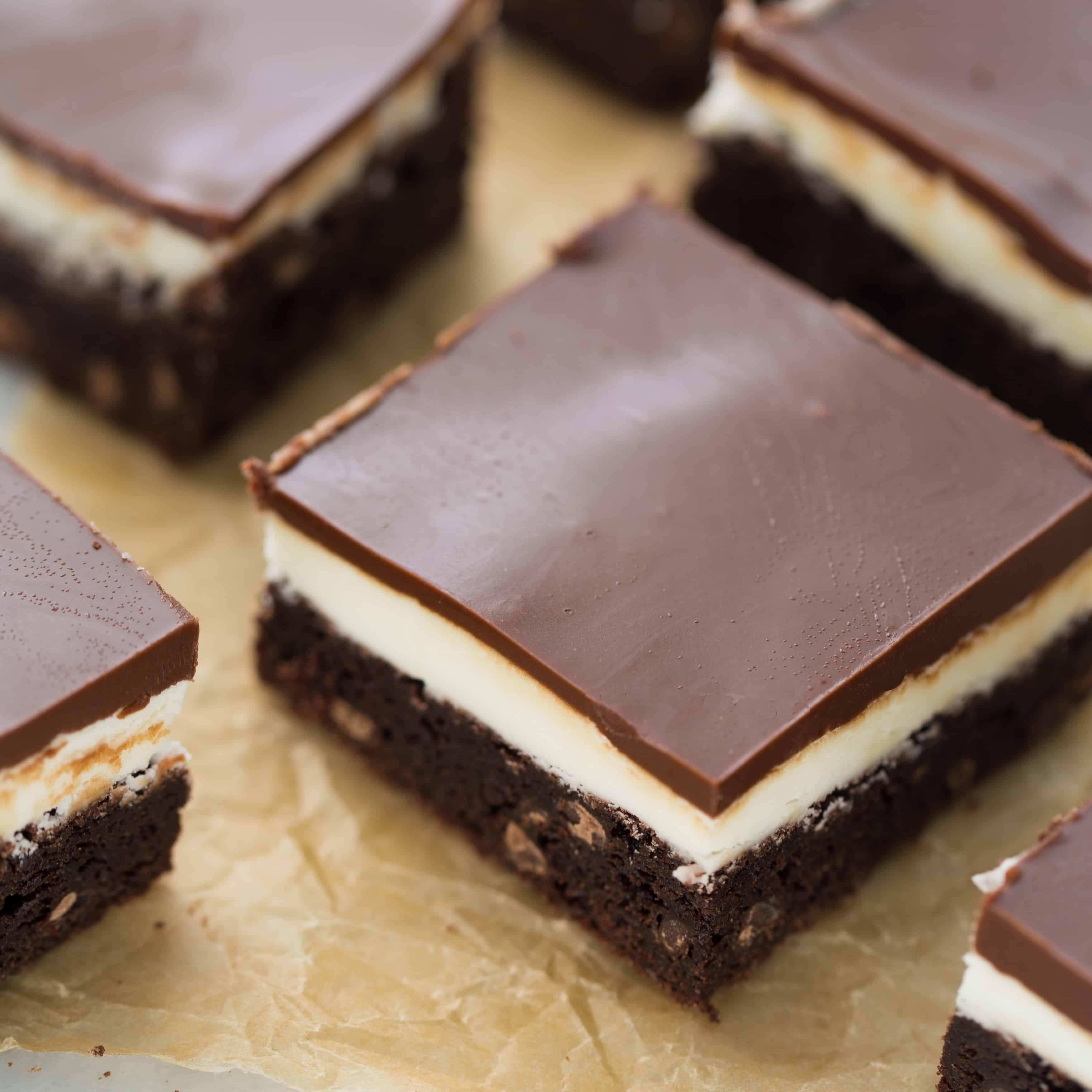 Gluten-Free Mint Brownies