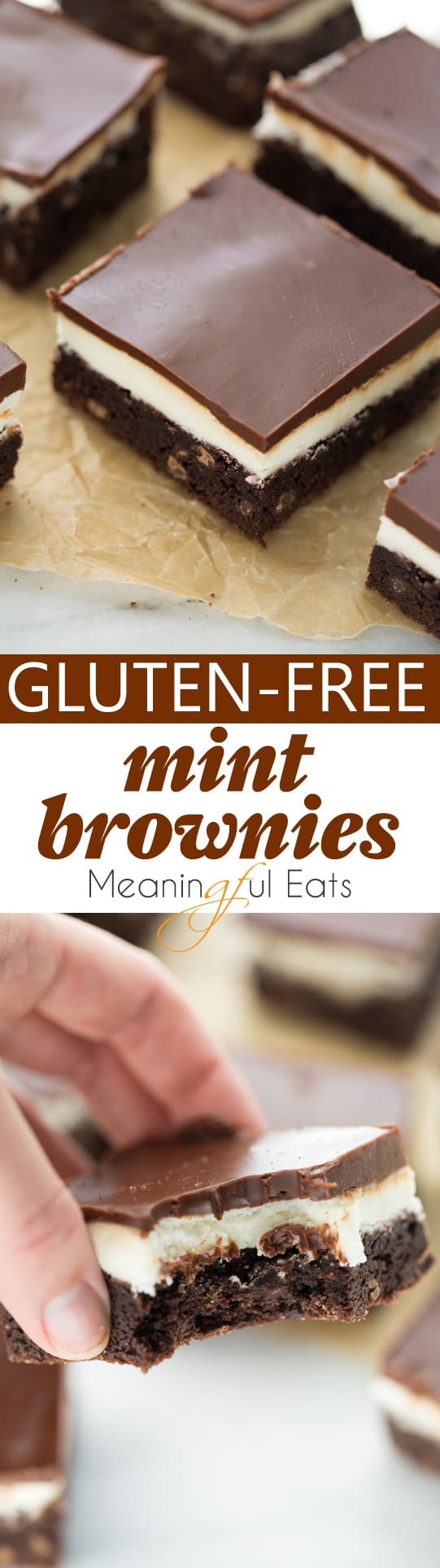 Gluten Free Mint Brownies Meaningful Eats