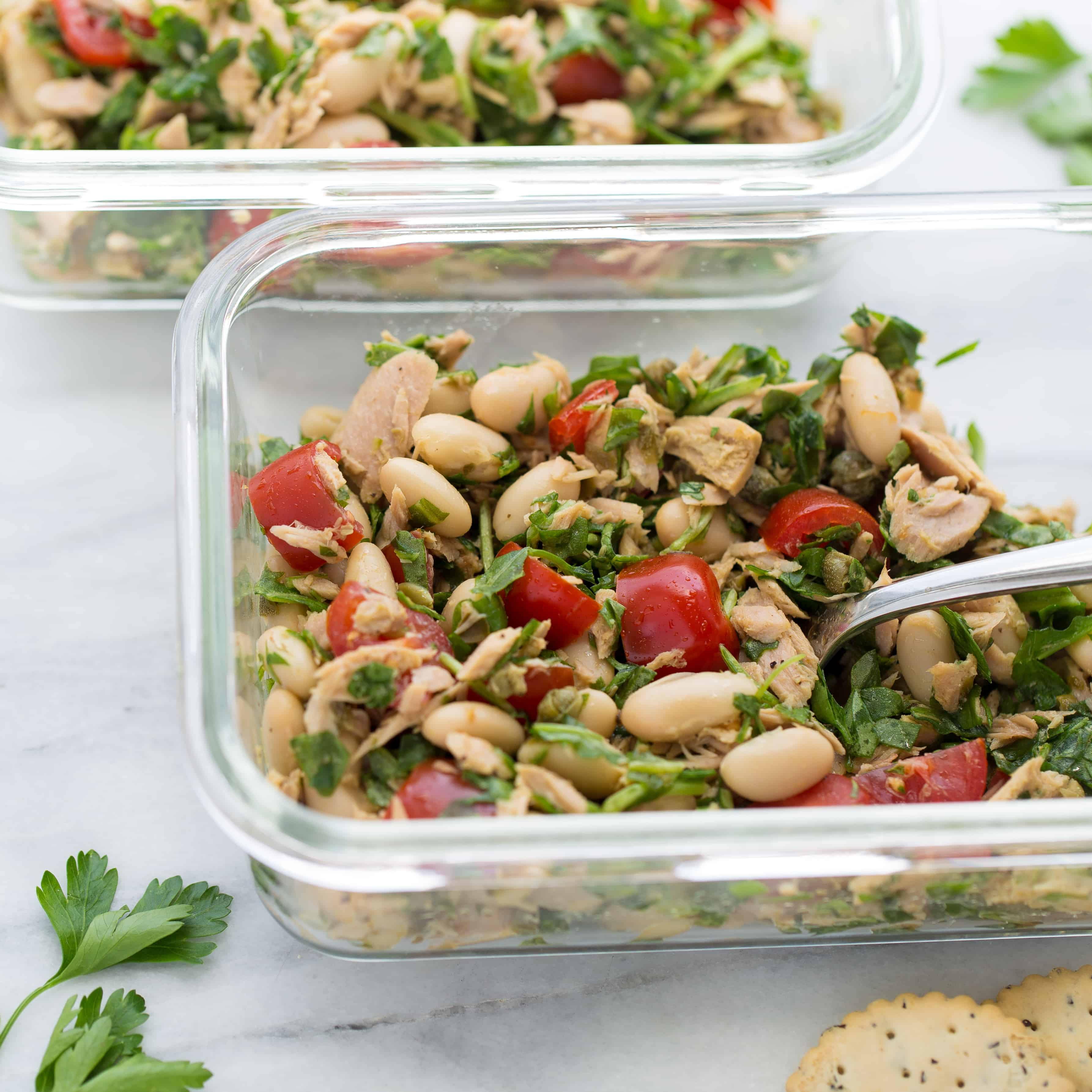5-Minute Italian Tuna Salad