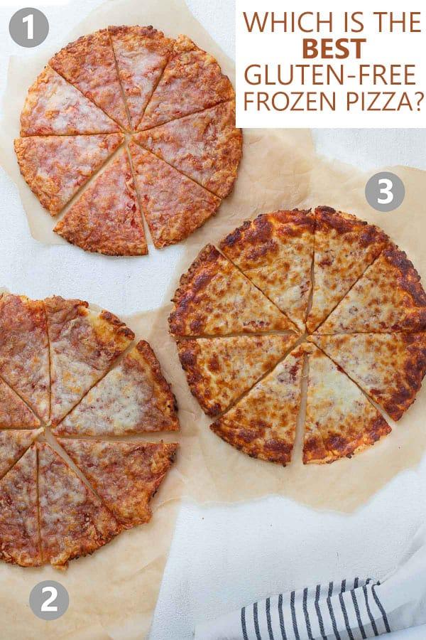 comparison of gluten-free frozen pizzas